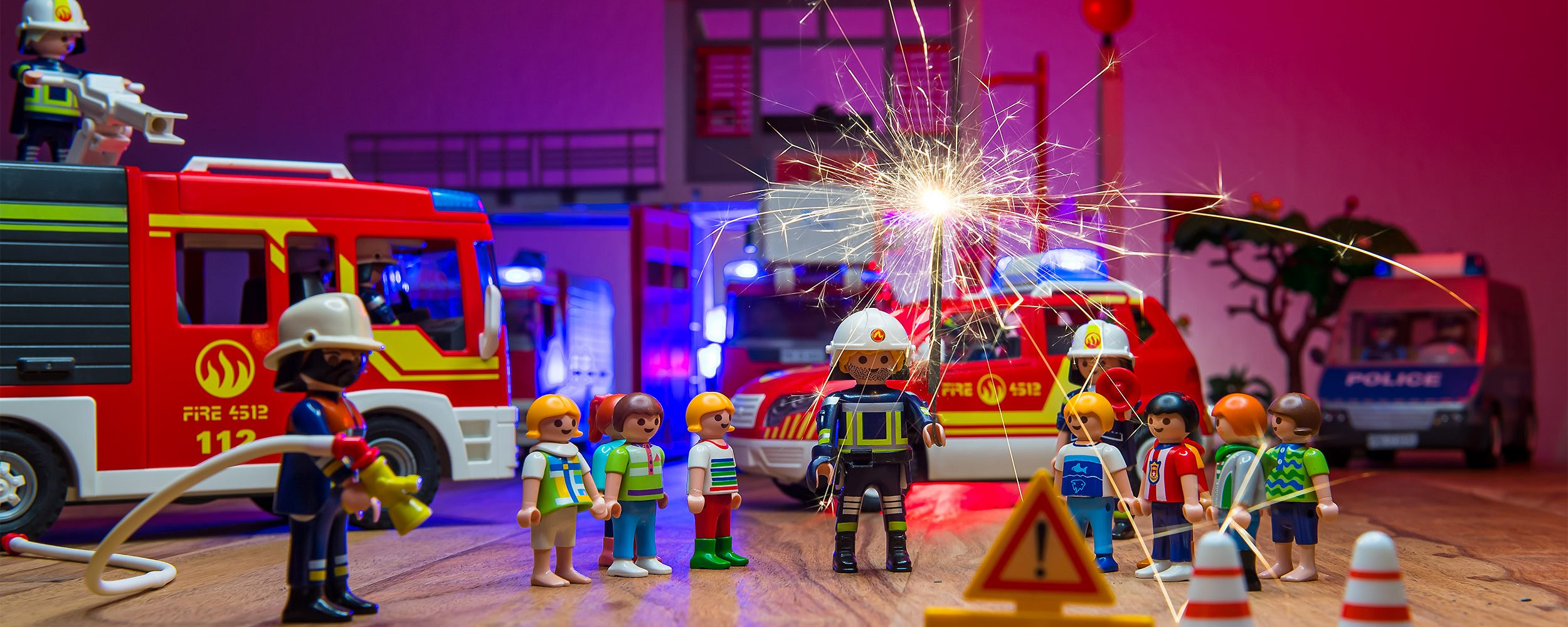 Feuerwehr Warendorf - Brandschutzerziehung